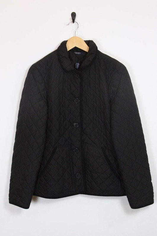 Ralph Lauren Jacket 14 / Black Vintage Ralph Lauren Quilted Jacket