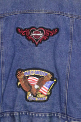 Ralph Lauren Jacket Customised Ralph Lauren Denim Jacket