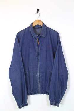 Ralph Lauren Jacket Men's Ralph Lauren Harrington Jacket - Blue L