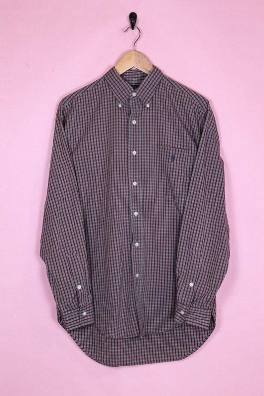 Ralph Lauren Shirt Extra-Large / Brown Ralph Lauren Brown Check Shirt