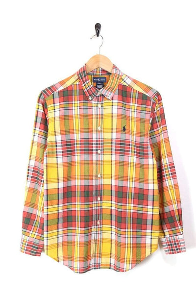 Men's Ralph Lauren Checked Shirt - Multi S