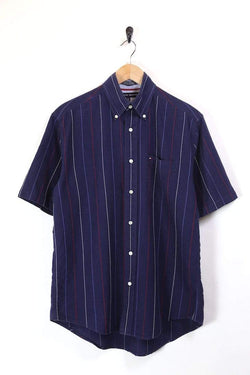 Men's Tommy Hilfiger Striped Shirt - Blue M