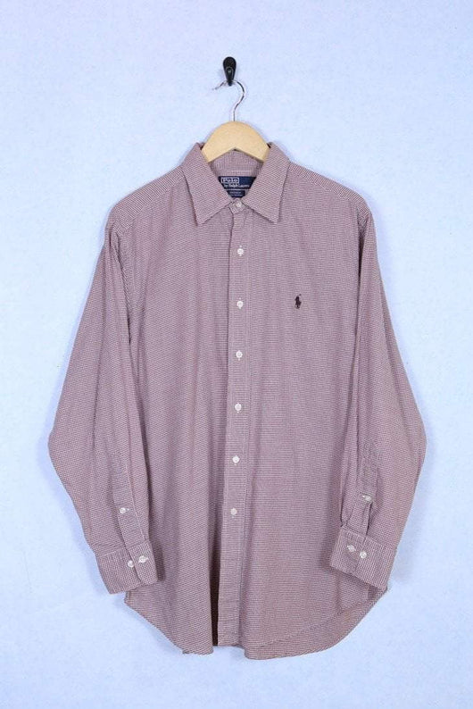 Ralph Lauren Shirt Large / Red Vintage Ralph Lauren Burgundy Shirt