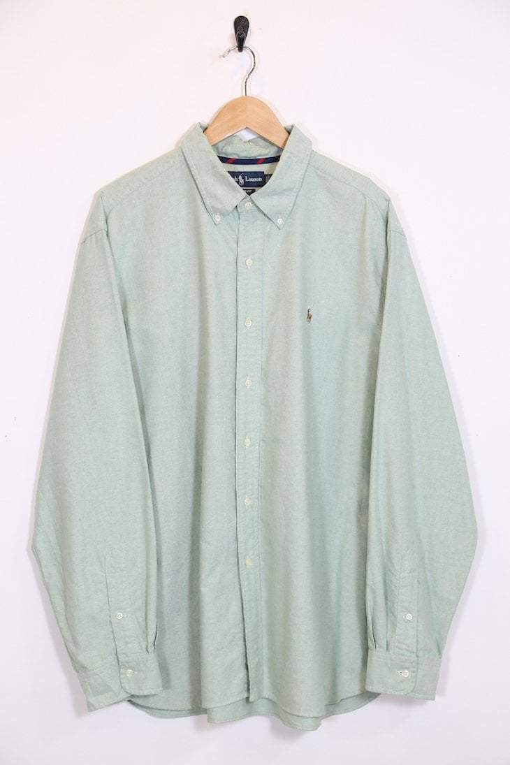 db9a6a74a Vintage Ralph Lauren Pastel Long Sleeved Shirt
