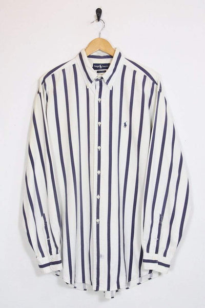 Ralph Lauren Shirt XL / white Vintage Ralph Lauren Striped Shirt