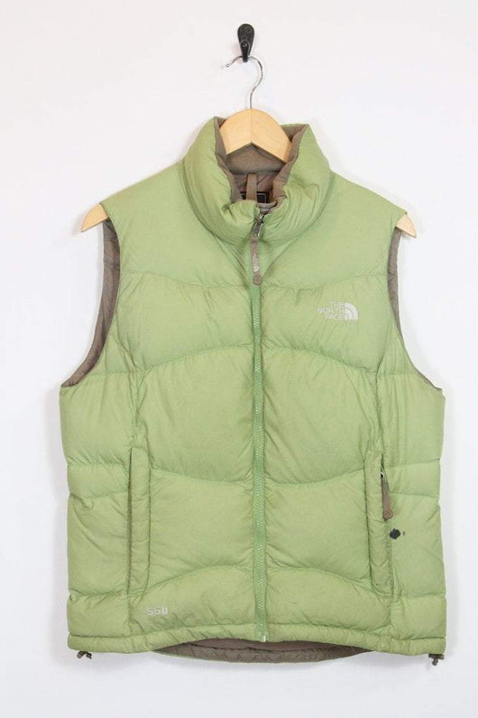 f4e9cb4b3 Vintage Women's The North Face Gilet - Green M - DIO22