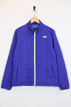 Women's The North Face Quilted Jacket - Blue M