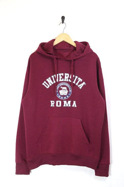 Men's University Hoodie - Red XL