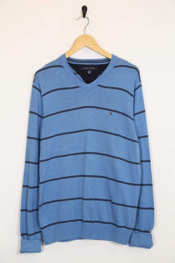 Tommy Hilfiger Jumper Vintage Tommy Hilfiger Striped Jumper