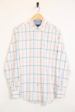 Tommy Hilfiger Shirt Vintage Tommy Hilfiger Pastel Checked Shirt