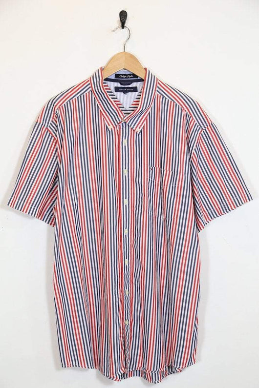 a28ef0985 Tommy Hilfiger Shirt Vintage Tommy Hilfiger Short Sleeved Shirt