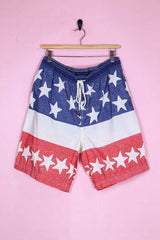 Tommy Hilfiger Shorts 32W / Red Tommy Hilfiger Stars and Stripes Board Shorts