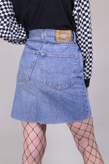 Tommy Hilfiger Skirt Vintage Reworked Denim Skirt