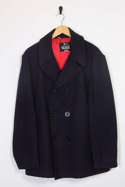 Woolrich Coat Vintage Woolrich Classic Peacoat