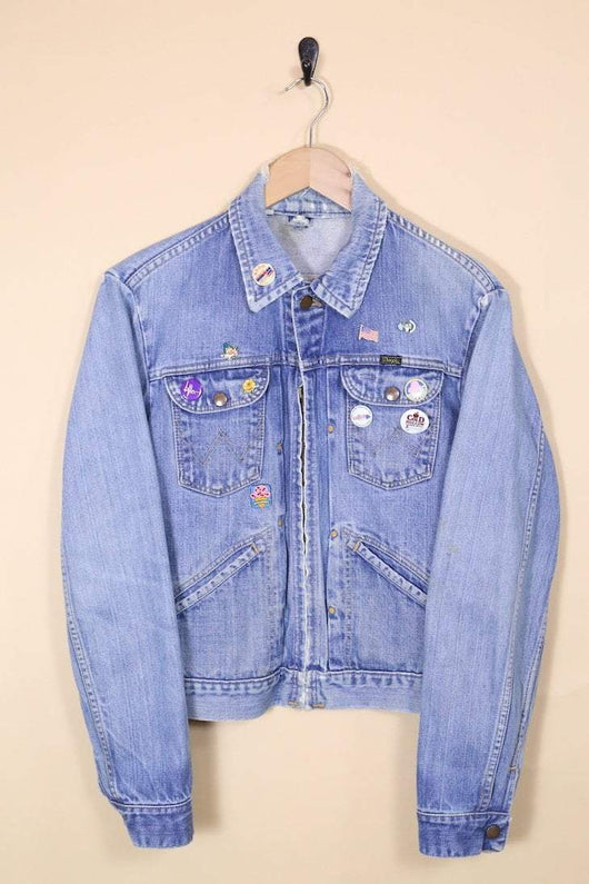 Wrangler Jacket 10 / blue Vintage Wrangler Denim Jacket