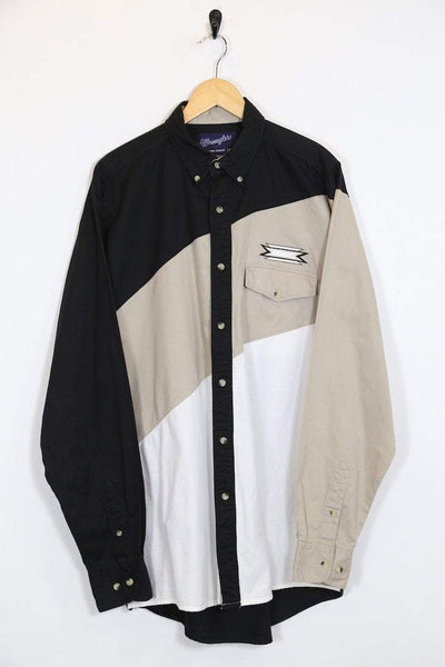 Wrangler Shirt Vintage Wrangler Colour Block Shirt
