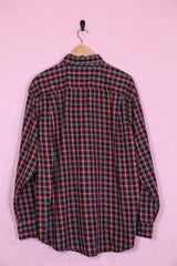 Wrangler Shirt XL / red Vintage Wrangler Premium Crimson Checkered Shirt