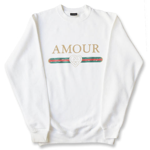 AMOUR GANG CREWNECK SWEATER
