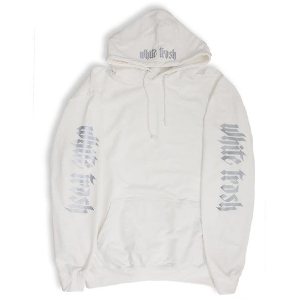SNOW 'WHITE TRASH' OVERSIZED HOODIE (3M)