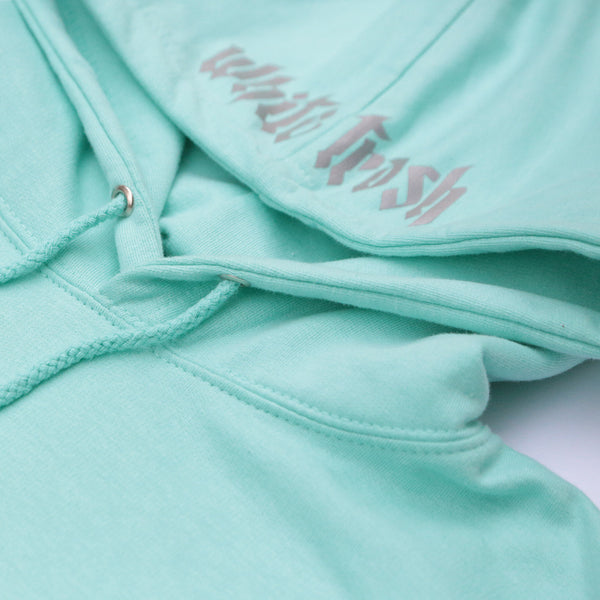 MINT 'WHITE TRASH' OVERSIZED HOODIE (3M)