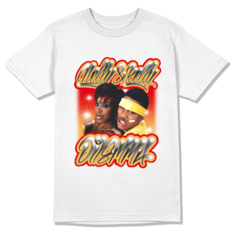 """NELLY FEAT KELLY ROWLAND - DILEMMA "" LEGENDS TEE SHIRT"