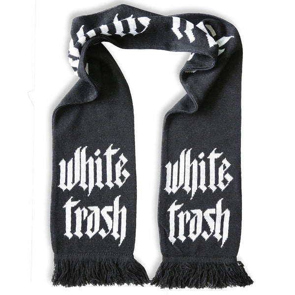WHITE TRASH SUPPORTERS SCARF