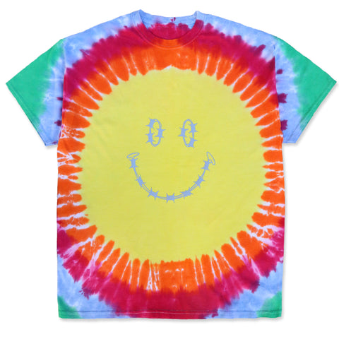 """HAVE A NICE DAY"" TEE SHIRT - TIE AND DYE"