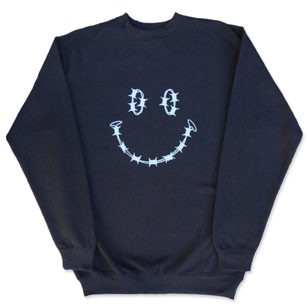"""HAVE A NICE DAY"" SWEATSHIRT - BLACK"
