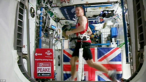 British astronaut Tim Peake Guinness World Record
