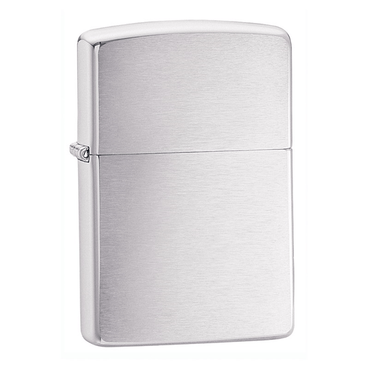 200 Classic brushed chrome Zippo lighter