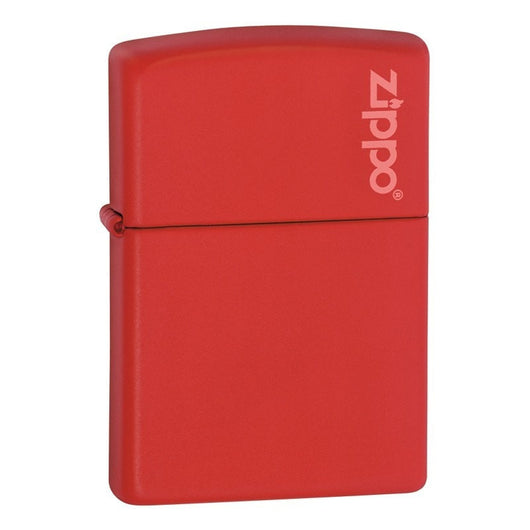 233ZL - Red Matt Zippo lighter