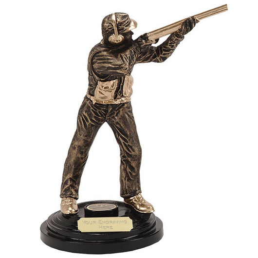 A059 - Action Clay Pigeon Shooting Trophy