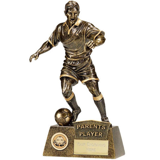 A1090C.07 - Parents Player Pinnicale Football Trophy