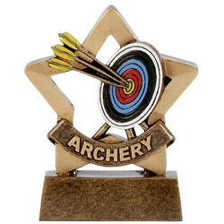 A1106 - Mini Star Archery Trophy (8cm)