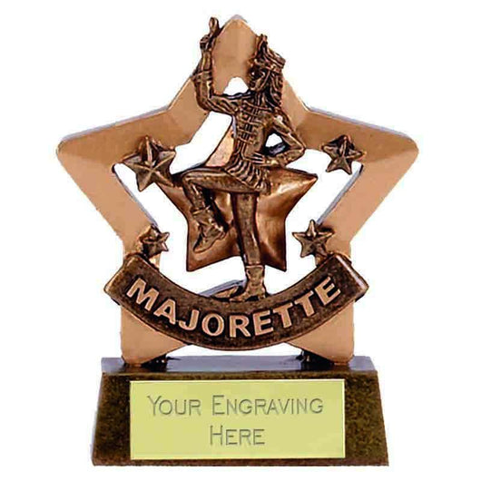 A1128 - Majorette Mini Star Dance Trophy
