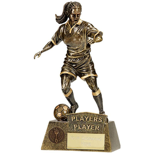 A1201C.02 - Pinnacle Players Player Female Football Trophy