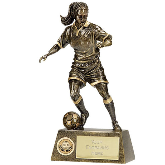 A1201 - Pinnacle Female Football Trophy