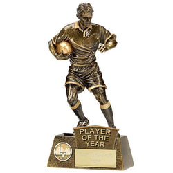 A1202C.03 - Pinnacle Male Player of the Year Rugby Trophy