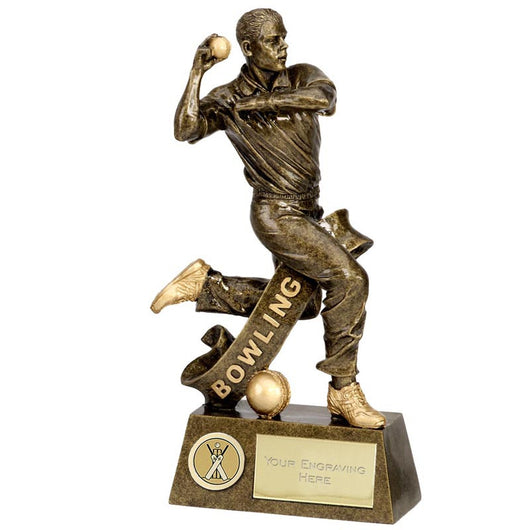 A1255 - Pinnacle Bowler Cricket Trophy