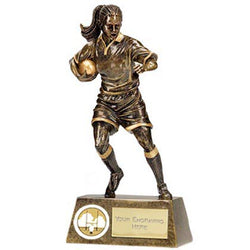 A1328 - Pinnacle Female Rugby Trophy (3 Sizes)