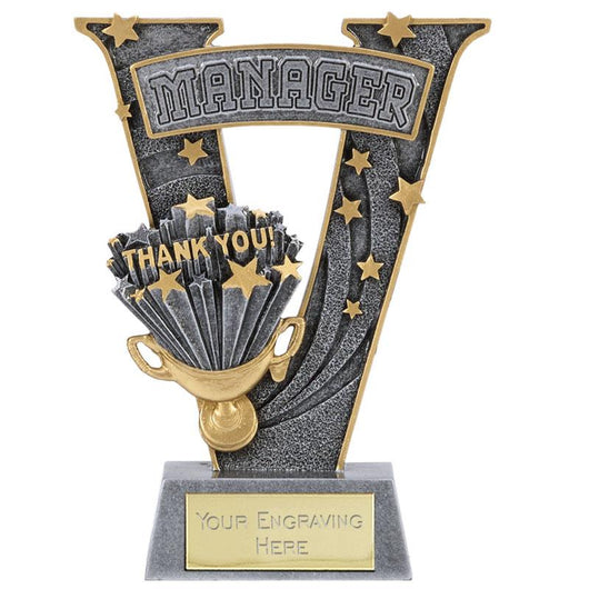 A1529B - Manager Thank You Football Trophy
