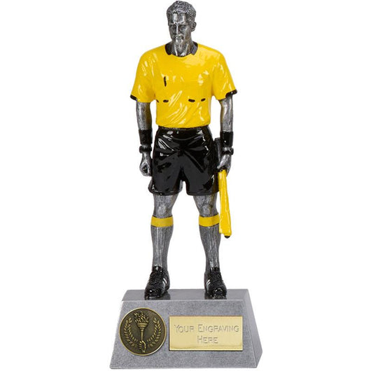 A1536C - Assistant Referee Football Trophy - London Football Awards Shop
