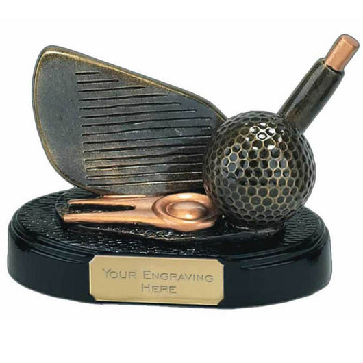 Iron Golf Trophy