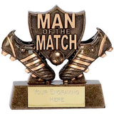 A873 - Man of the Match Football Trophy