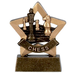 A952 - Mini Star Chess Trophy