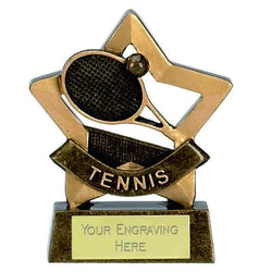 A954 - Mini Star Tennis Trophy (8cm)