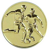 AM074G - Gold Supreme Heavy Weight Football Medal