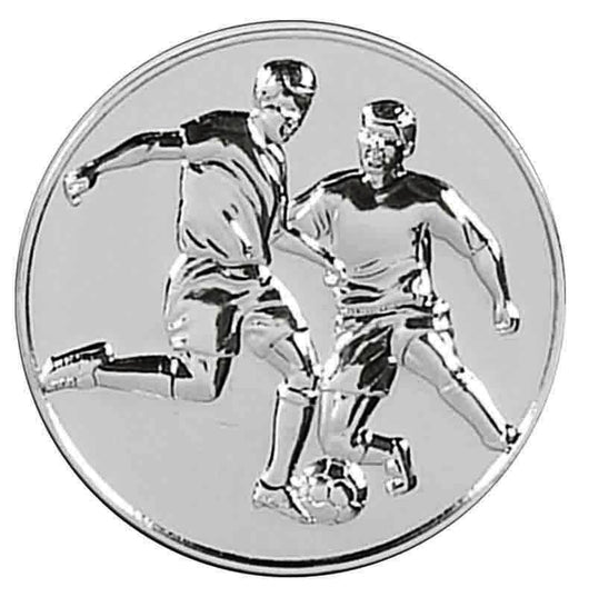 Silver Supreme Heavy Weight Football Medal