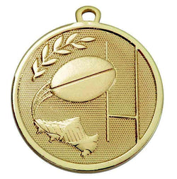 Gold Galaxy Rugby Medal