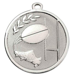 AM1033.02 - Silver Galaxy Rugby Medal